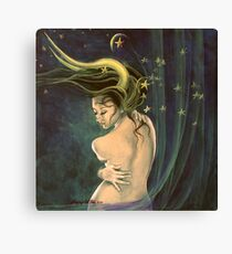 """Taurus"" - ...from ""Zodiac signs"" series Canvas Print"