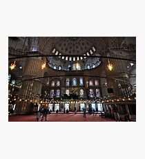 The Blue Mosque Photographic Print