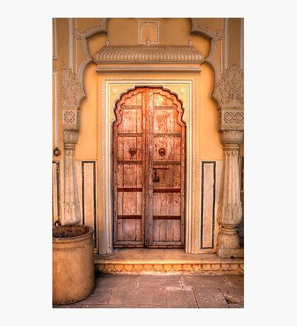 Jaipurian Door Photographic Print