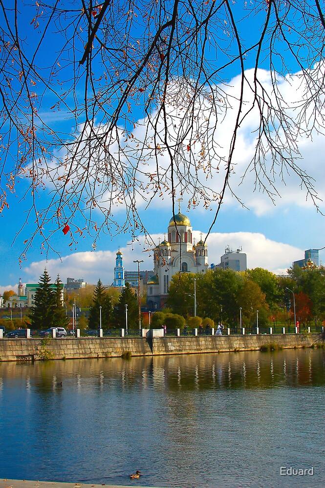 Beautiful city view by Eduard Isakov