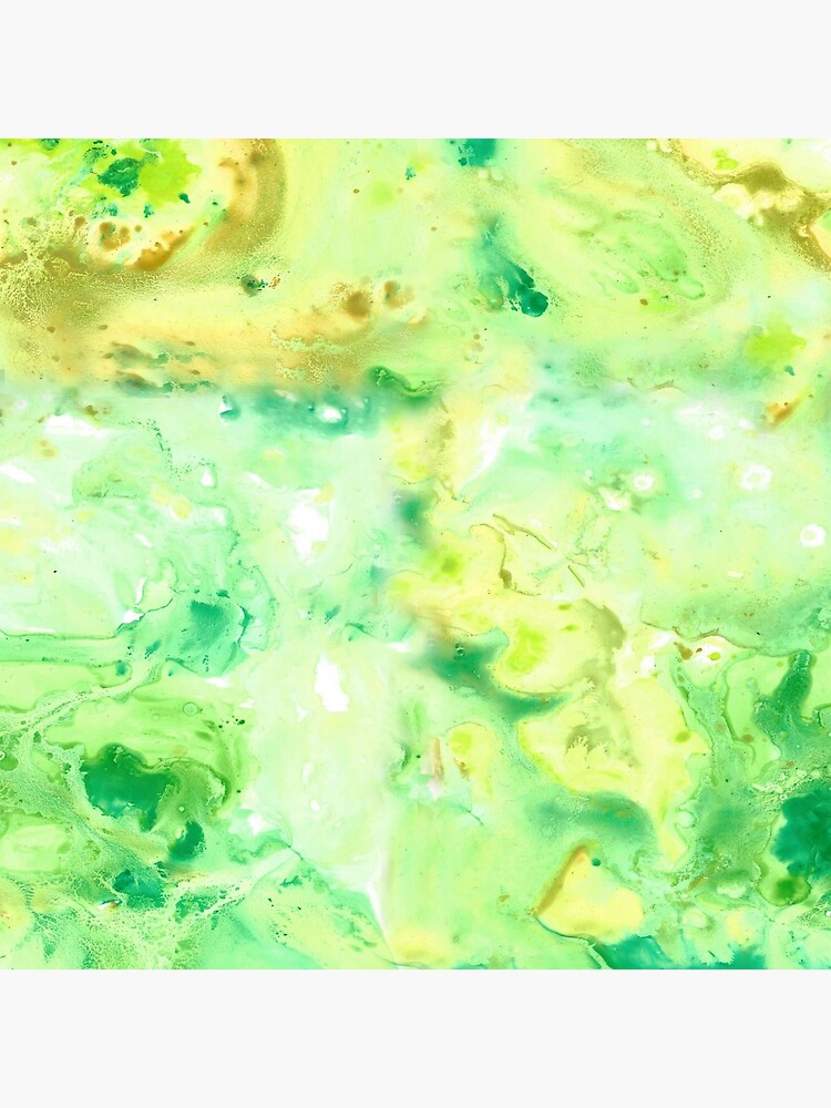 Green Marble Watercolour by MeredithWatson