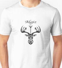 Algiz - Rune of Protection - The Elk Unisex T-Shirt