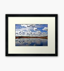 Canning Reservoir - Western Australia  Framed Print