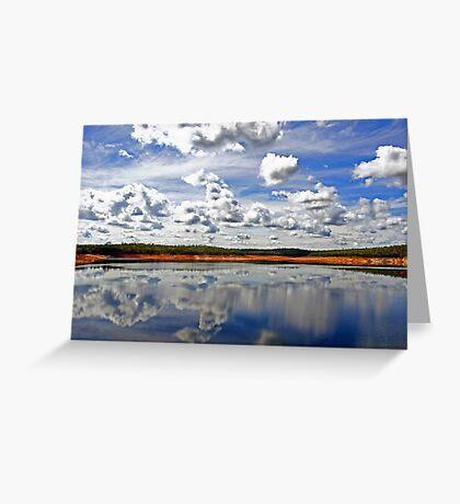 Canning Reservoir - Western Australia  Greeting Card