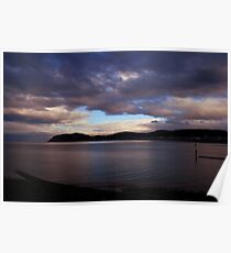 Seascape - North Wales Poster