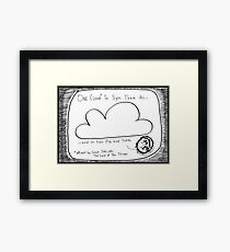 Mordork and The Lord of the Pings Framed Print