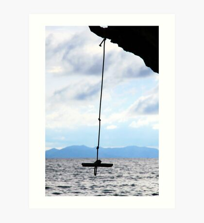 rope with a view Art Print