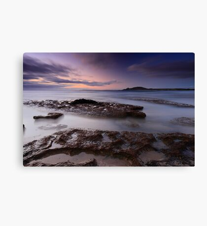 Green Point Twilight Canvas Print