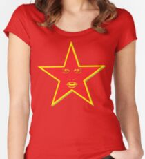 Starface Women's Fitted Scoop T-Shirt
