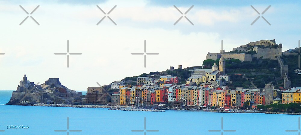 A View of Porto Venere by photorolandi
