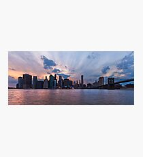 Manhattan Photographic Print