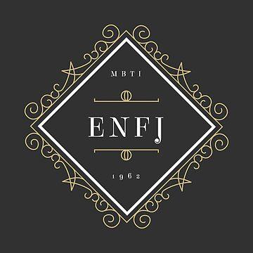 ENFJ Ornamental Insignia (dark) by eilamona