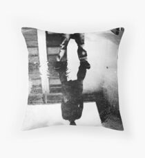 mysterious refelction Throw Pillow