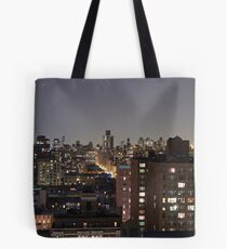 Manhattan in motion - upper west side  Tote Bag