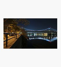 Manhattan in motion - Astoria park Photographic Print
