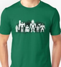 Plastic Villains / The Usual Suspects Unisex T-Shirt