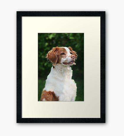 Lizzy Portrait Framed Print