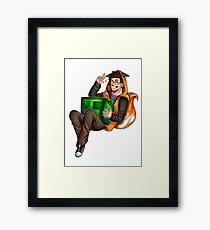 Sly + Hipo Framed Print