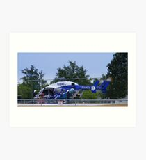 Transport Helicopter Art Print