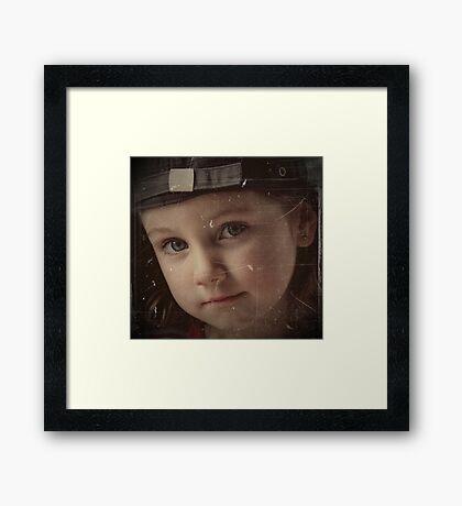 Miss Chloe  Framed Print