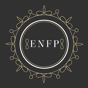 ENFP Ornamental Insignia (dark) by eilamona