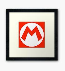 Mario Framed Print