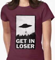 Get In Loser Womens Fitted T-Shirt