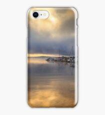 Sunrise at Strawberry Reservoir iPhone Case/Skin