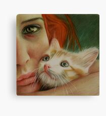 The only one that understands  Canvas Print