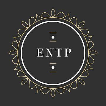 ENTP Ornamental Insignia (dark) by eilamona