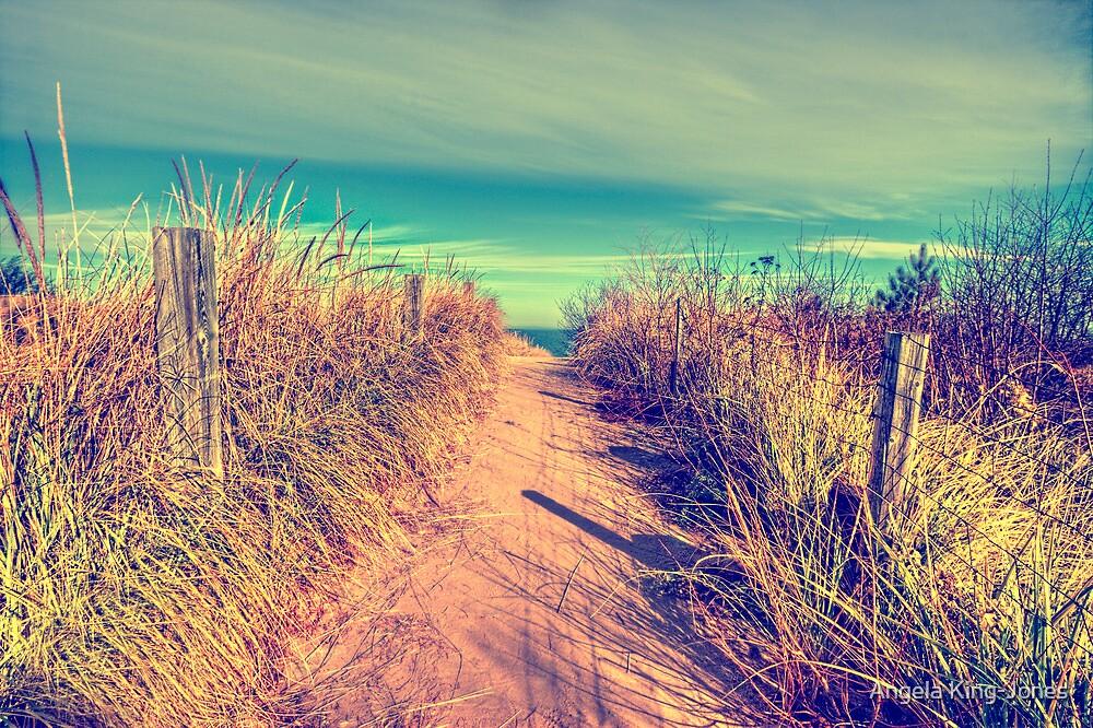 Over the horizon by Angela King-Jones