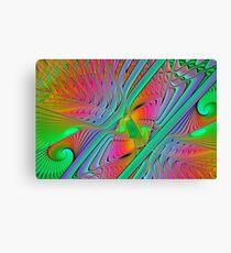 Colorful Splits-Cylinder Canvas Print