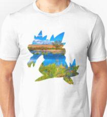 Feraligatr used surf T-Shirt