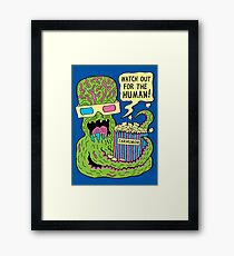 Alien Monster Movie Framed Print