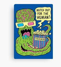 Alien Monster Movie Canvas Print