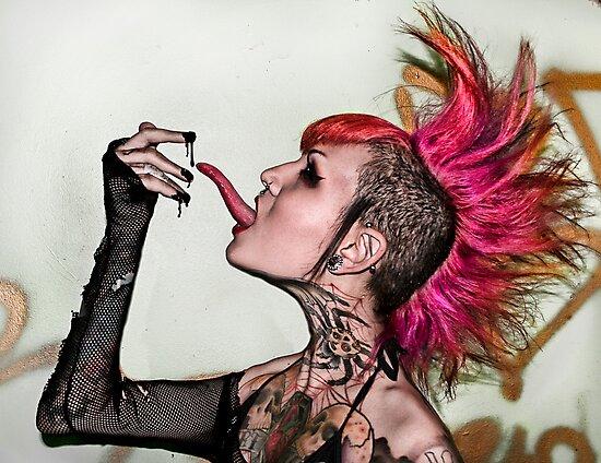 Tongue and Goop by Analisa Ravella