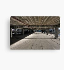 The Speed of Concrete Canvas Print