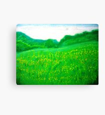 Green Green Grass of Home Canvas Print