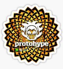 Protohype Logo - White - Special Beltane 2011 Dzyn Sticker
