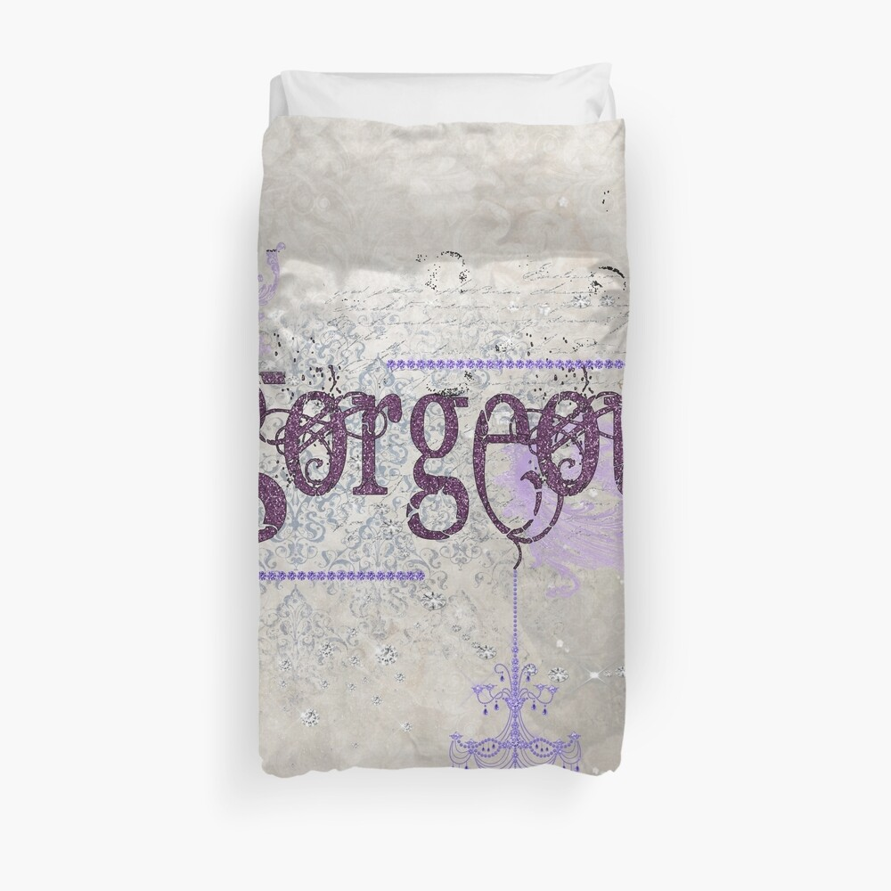 Gorgeous - Diamonds and Sparkly Bits Duvet Cover