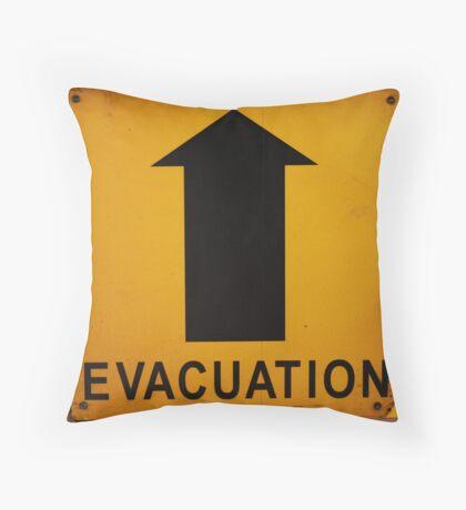 Evacuation Route Throw Pillow