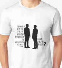 you mean gym? Unisex T-Shirt