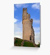 Helmsley Castle Greeting Card