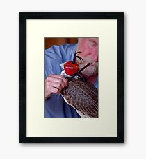 hooded Framed Print