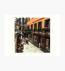 Fresco - Venice Life Art Print