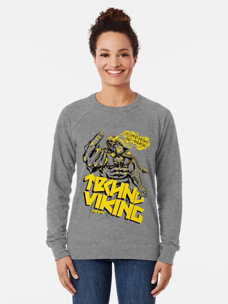 EPIC TECHNO VIKING | Lightweight Sweatshirt