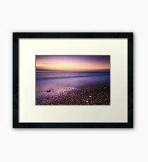Ebb & Flow - Sunrise Framed Print