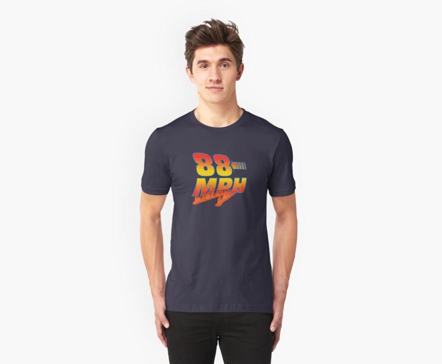 88MPH + Flames by shirtoid