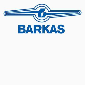 *Barkas - VW van goes East Germany* - BLUE by bluedog725