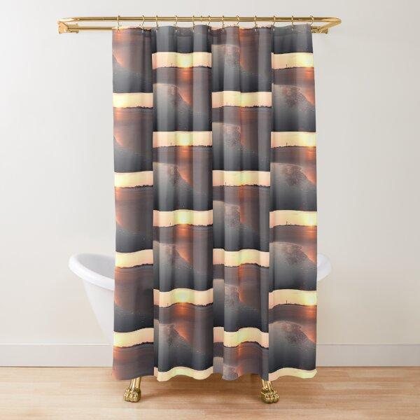 Sunset at Sullivan's Island Shower Curtain